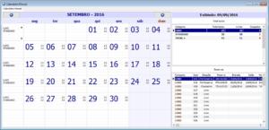 Calendário Mensal